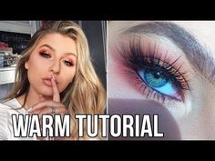 THANKSGIVING MAKEUP TUTORIAL | HUDA BEAUTY WARM BROWN OBSESSIONS - YouTube