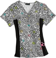 22f38332835 Medical Uniforms and Nursing Scrubs - Cherokee Flexibles 100% Cotton I m  Wild About You