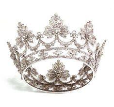 Corona di nozze di diamanti della Regina Consorte Vittoria Eugenia di Spagna