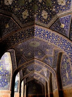 Blue Mosque, Tabriz, Iran. On the Great Silk Road.