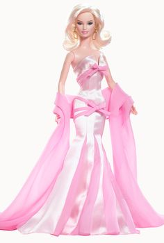 Looking for Collectible Barbie Dolls? Shop the best assortment of rare Barbie dolls and accessories for collectors right now at the official Barbie website! Barbie Gowns, Barbie Dress, Barbie Clothes, Pink Dress, Barbie Fashionista, Manequin, Barbie And Ken, Pink Barbie, Pink Doll