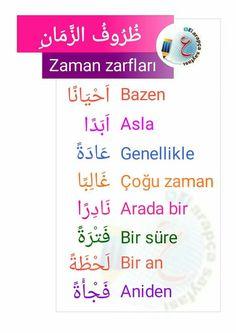 #Arabic #English #Learn Learn Turkish Language, Arabic Language, Language Quotes, Language Lessons, Turkish Lessons, English Language Learning, Learning Arabic, Arabic Words, Learn English