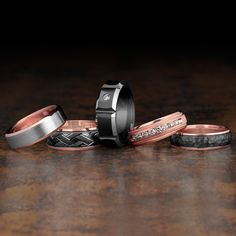 Which men's wedding band is your style?