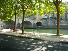 Pont Marie.  Built in 1670, the bridge is one of the oldest in Paris. It links the Right Bank to the Île Saint-Louis.