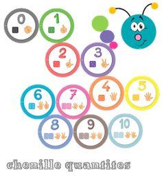 Chenille, Preschool Math Games, Activities, Diy Crafts For Kids, Blog, Gabriel, Cycle 1, Galette, Voici