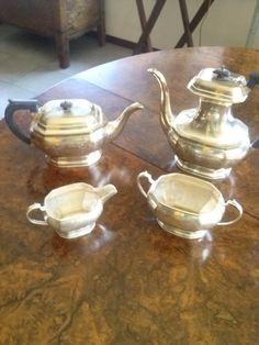Servizio da tea inglese vittoriano in sheffield ,punzonato. Epoca vittoriana. Prezzo scontato del 50%! di LaTribuDellArte su Etsy