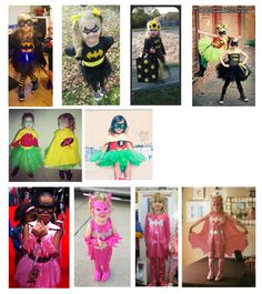 Little Girls Continue To Design Superhero Costumes Better Than Anyone
