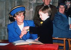 Princess Diana and Prince William, 1993