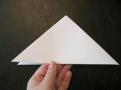 Paper Snowflake tutorial - Step 2