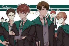 Read Haikyuu en Hogwarts 🔮🔮🔮 from the story Las mejores versiones de Haikyuu! Anime Boys, Manga Anime, Manga Haikyuu, Haikyuu Fanart, Kagehina, Iwaoi, Kuroken, Kenma, Nishinoya