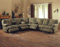 Flexsteel Sofa Camouflage Sectional Sofa
