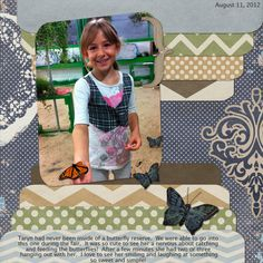 Layout by MelissaKay using Woodsy Digital Scrapbooking Kit by Simple Girl Scraps