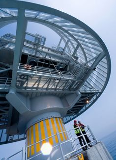 offshore transformer station associated with liljegrun offshore wind energy farm via siemens
