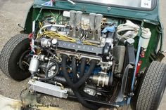 Turbo Motor, Engine Types, Modified Cars, Classic Mini, Extreme Sports, Cars And Motorcycles, Cool Cars, Mini Stuff, Retro