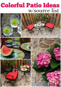 Bright Spring Patio