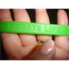 In support of my nephew who received a kidney transplant in April 2008, I proudly wear my band!