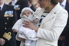 księżna koronna Szwecji Wiktoria z synem - księciem Saknii Oscarem [30.04.2016]