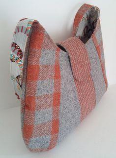 Tweed Handbag