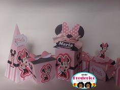 Kit Scrap Festa Luxo Minnie Rosa R$180,00