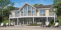Maison Nordique - Maisons usinées - Style Chalet- Modèle Montagnard