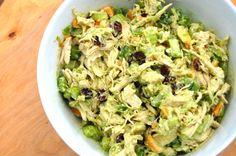 Avocado Cashew Chicken Salad