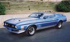 Ford Mustang Mach I, 1971