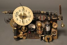 dumilo & DECOR's Official Blog - Style compass with Dumilo: Steam Punk Clock 置時計