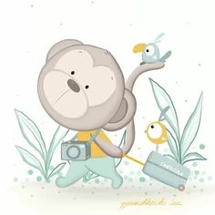 Baby Images, Cute Images, Pretty Pictures, Baby Painting, Painting For Kids, Animal Drawings, Cute Drawings, Birthday Wishes Greeting Cards, Baby Posters