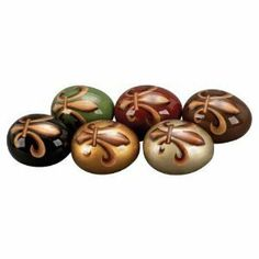 "Fluer De Lis Decorative Egg Ceramic Decor for the Home [Kitchen] by MAA. $40.19. Animal Print Ceramic Egg S/6 5""H,4""W"