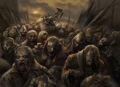 Zombie Apocalypse - Peter Mohrbacher