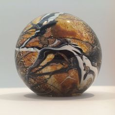 Rare Signed Michele Luzoro French Art Glass Paperweight C. 1997