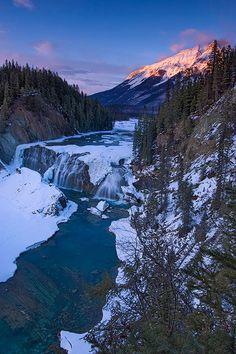 Wapta Falls, near Field BC