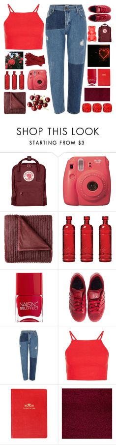 """i'm nineteen and i'm on fire"" by thunderingwaves on Polyvore featuring Fjällräven, Fujifilm, JCPenney Home, Cultural Intrigue, GET LOST, Nails Inc., Yves Saint Laurent, adidas, River Island and Debrett's"