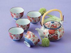 Tokyo Matcha Selection - [SUPER SALE] Arita-yaki Porcelain : SAKURA - Kyusu Tea pot