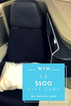 Got an upcoming trip planned on American Airlines? No problem - we've got you covered with this chance to win a $500 American Airlines gift card.