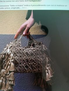 Macrame Bag, Macrame Design, Design Reference, Handmade Bags, Louis Vuitton Speedy Bag, Bucket Bag, Weaving, Diy, Journey