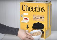 This Cute Cheerios Machine Made From Lego Serves You Breakfast http://gadgetfreaky.com/this-cute-cheerios-machine-made-from-lego-serves-you-breakfast/