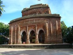 Kantojiu Temple is a late medieval Hindu temple in Dinajpur, Bangladesh. Built by Maharaja Pran Nath, its construction started in 1702 C.E. and ended in 1752 C.E.,[1] during the reign of his son Maharaja Ramnath. It once had 9 spires but these were destroyed in 1897.