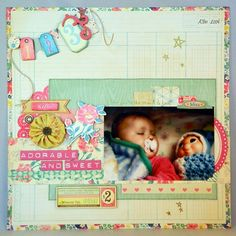 Adorable and Sweet - Scrapbook.com