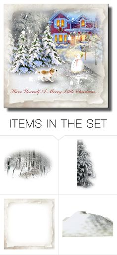 """""""Have Yourself A Merry Little Christmas..."""" by cathy1965 ❤ liked on Polyvore featuring art"""