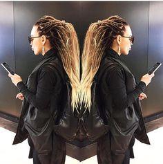 x10 ou ensemble complet d'extension de cheveux synthétiques dreadlocks terminé double noir OMBRE au brun pour dreads blondes dread 20-25 pouces basilic de se