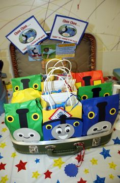 Thomas the Tank Engine Kids' Birthday party ideas