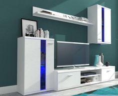 Life - Obývací stěna (bílá) | Jena nábytek