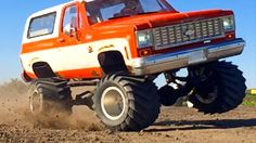 BOOSTED CHEVY K5 Blazer 4x4 RC Truck - 6s Lipo Pulls JUDGE | RC ADVENTURES - YouTube