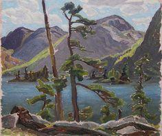 'Grace Lake, North Shore Lake Huron' by Frank Carmichael at Consignor.ca