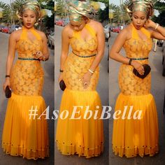 Modern, Simple, & Sleek Aso-Ebi Styles that will Wow You - Wedding Digest NaijaWedding Digest Naija African Dresses For Women, African Print Dresses, African Attire, African Wear, African Women, African Prints, African Fashion Ankara, African Print Fashion, Africa Fashion