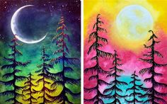Hey! Check out Midnight Moonlight Partner Painting at House of Blues - Houston - Paint Nite Event