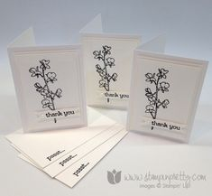 Stampin up stamp it pretty mary fish watercolor wonder note card ideas thank you. This set reminds me of Stampin Up retired set Fast & Fabulous.