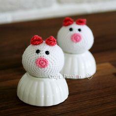 Amigurumi: Piggy Bun Pattern