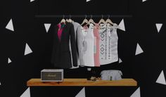 Misc Conversions III• Bedroom Blazer (9 swatches) • Bedroom Shirt With Necklace (13 swatches) • Bedroom Shirt With Roses (9 swatches) • Mari Marshall Stanmore Speakers (functional) • Wash Bag (4...